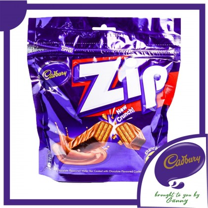 Cadbury Zip Wafer Chocolate 31pcs 201g
