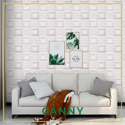 70X70Wall Stickers PE Foam 3D WallPaper Brick Waterproof Self Adhesive Wallpaper (1PCS)
