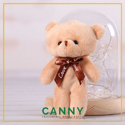 SOFT TOY BEAR FOR DECORATION/ BEAR FOR BOUQUET / BEAR FOR GIFT (1 PCS) [KOD: C02]