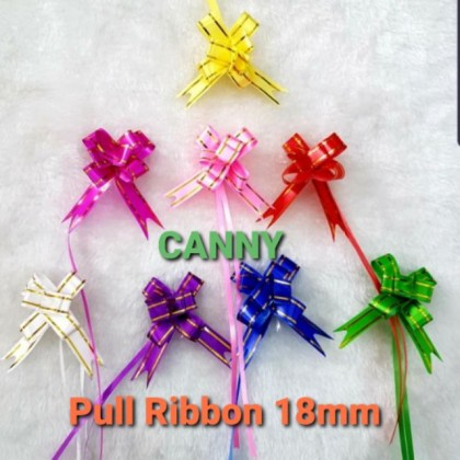 10 pcs Pull Ribbon Butterfly 18mm /PVC Reben Tarik 18mm 10pcs