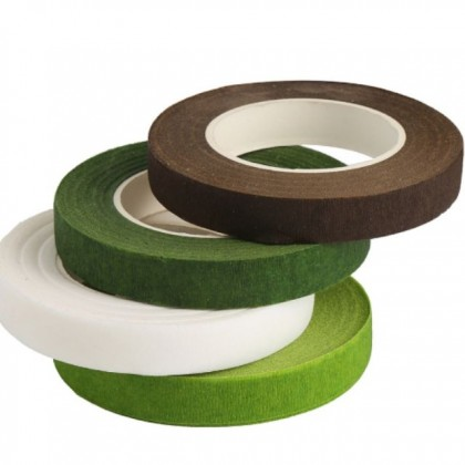 Floral Tape 12mm (1 roll - 20 yards) / Tape Pelilit Bunga 12mm (1 roll)