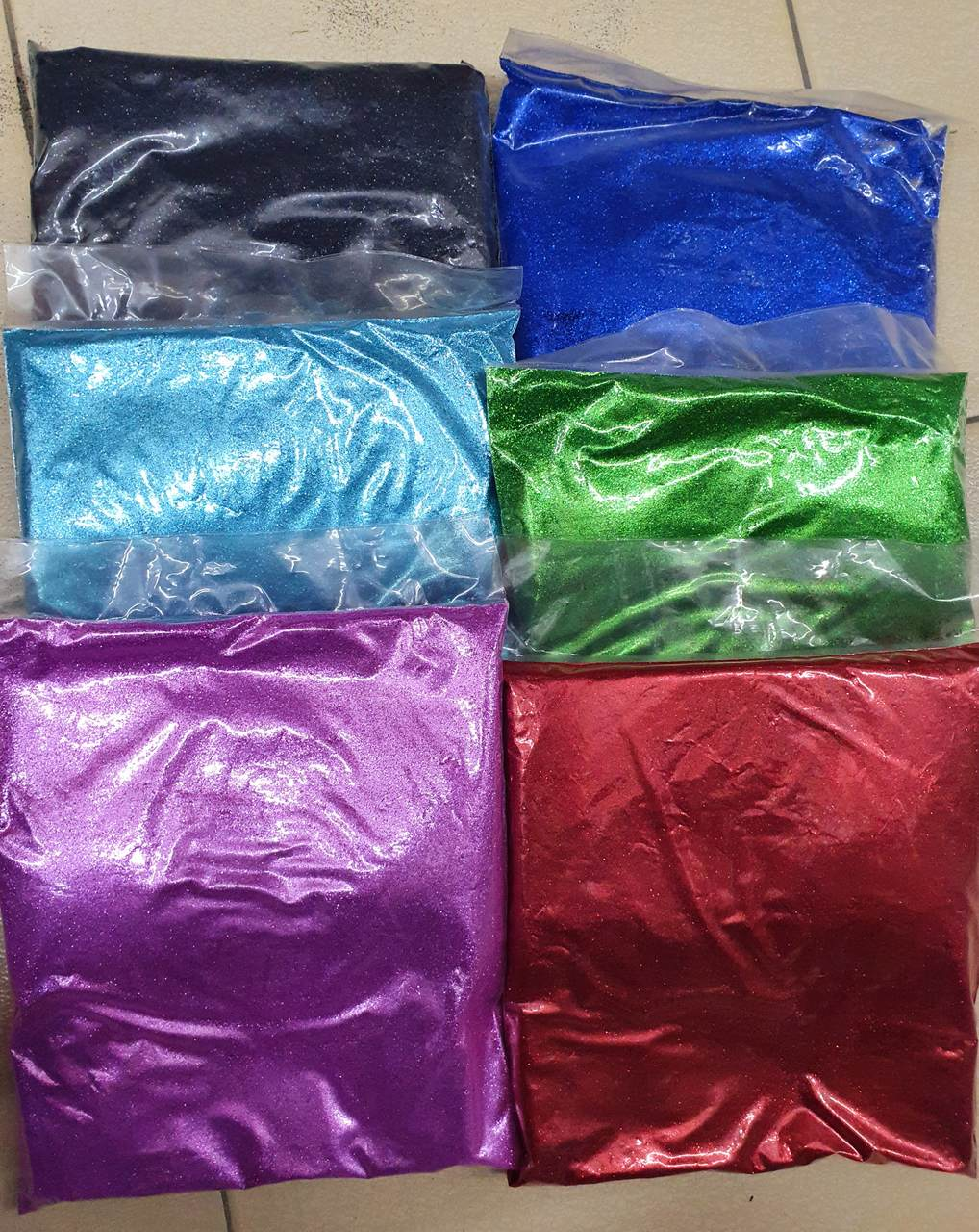 500 gram Glitter Powder for Balloon , Handicraft / Serbuk Emas Glitter 500 gram